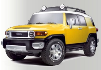 Fj Cruiser Yellow