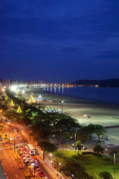 Santos - Beach Scene